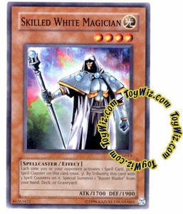 YuGiOh Tournament Pack 7 Single Card Common TP7-EN013 Skilled White Magician