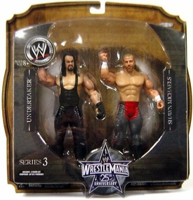 WWE Wrestlemania 25 Series 3 Action Figure 2-Pack Undertaker & Shawn Michaels