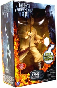 Avatar The Last Airbender Movie Ultimate Battle Deluxe Figure Aang