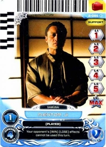 Power Rangers Action Card Game Guardians of Justice Single Card Common 2-085 Mentor Ji