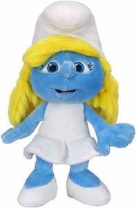 The Smurfs Movie Jakks Pacific 8 Inch Bean Bag Plush Smurfette
