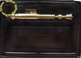 Star Wars Master Replicas .45 Scaled Replica Episode VI Return of the Jedi Luke Skywalker Lightsaber  Gold Variant
