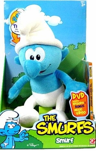 Smurfs 12 Inch Deluxe TALKING Plush with DVD Smurf