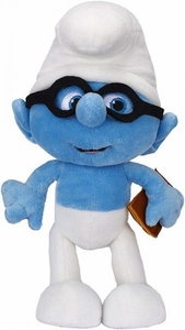 The Smurfs Movie Jakks Pacific 10 Inch Plush Brainy