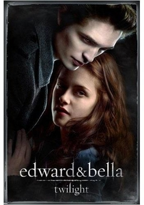 Twilight Movie Poster Edward & Bella