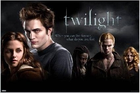 Twilight Movie Poster Group Shot 2