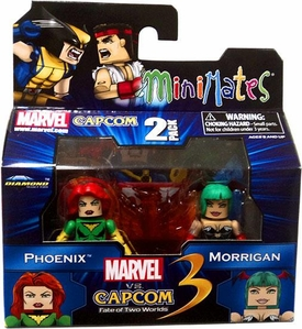 Marvel Vs Capcom 3 Minimates Series 1 Mini Figure 2-Pack Phoenix Vs. Morrigan
