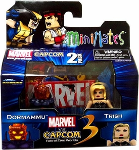 Marvel Vs Capcom 3 Minimates Series 1 Mini Figure 2-Pack Trish Vs. Dormammu