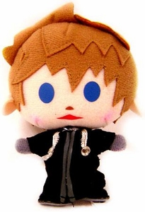 Kingdom Hearts Avatar 4 Inch Mini Plush Keychain Roxas