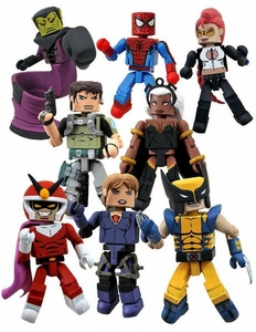 Marvel Vs Capcom 3 Minimates Series 2 Set of 4 Mini Figure 2-Packs