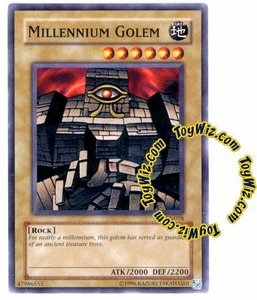 YuGiOh Tournament Pack 7 Single Card Common TP7-EN018 Millennium Golem