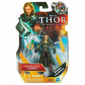 Thor Movie 4 Inch Action Figure #4 Secret Strike Loki