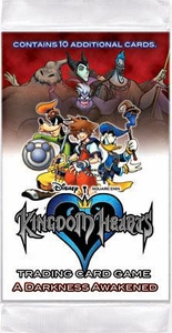 Kingdom Hearts CCG Trading Card Game Series 2 Darkness Awakened Booster Pack