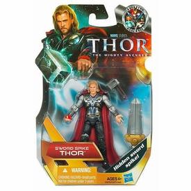 Thor Movie 4 Inch Action Figure #2 Sword Spike Thor