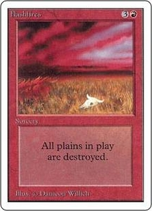 Magic the Gathering Unlimited Edition Single Card Uncommon Flashfires