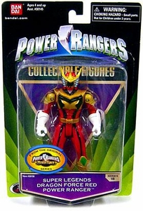 Power Rangers Super Legends Collectible Action Figure Dragon Force Red Ranger [Mystic Force] Damaged Package, Mint Contents!