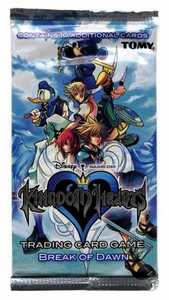 Kingdom Hearts CCG Trading Card Game Series 4 Break of Dawn Booster Pack
