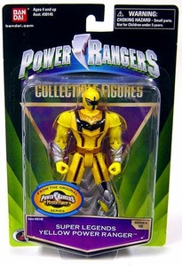 Power Rangers Super Legends Collectible Action Figure Yellow Ranger [Mystic Force]