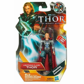 Thor Movie 4 Inch Action Figure #3 Lightning Clash Thor