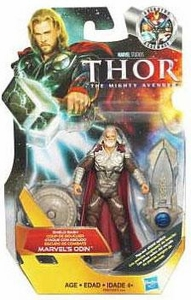 Thor Movie 4 Inch Action Figure #5 Shield Bash Marvel's Odin