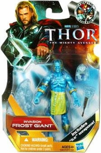 Thor Movie 4 Inch Action Figure #6 Invasion Frost Giant