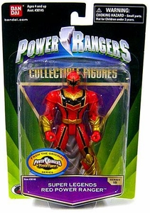 Power Rangers Super Legends Collectible Action Figure Red Ranger [Mystic Force]
