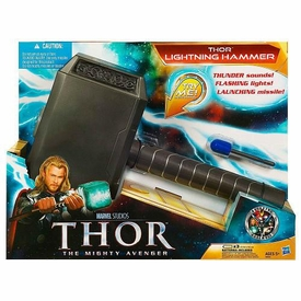 Thor Movie Electronic Lights & Sounds Roleplay Toy Lightning Hammer
