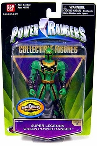 Power Rangers Super Legends Collectible Action Figure Green Ranger [Mystic Force]