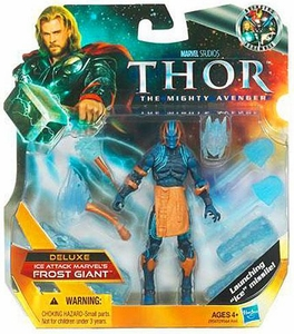 Thor Movie 4 Inch DELUXE Action Figure Ice Attack Marvel's Frost Giant