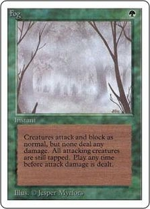 Magic the Gathering Unlimited Edition Single Card Common Fog