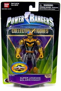 Power Rangers Super Legends Collectible Action Figure Solaris Knight [Mystic Force]