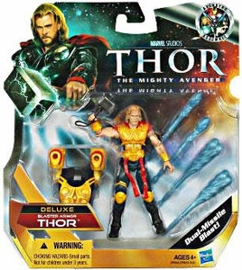 Thor Movie 4 Inch DELUXE Action Figure Thor [Blaster Armor] BLOWOUT SALE!