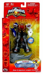 Power Rangers Super Legends Collectible Retrofire Action Figure Wild Force Megazord