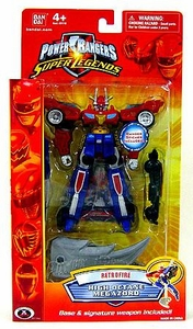 Power Rangers Super Legends Collectible Retrofire Action Figure High Octane Megazord