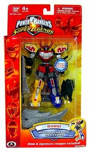 Power Rangers Super Legends Collectible Retrofire Action Figure Mighty Morphin' Megazord