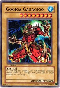 YuGiOh Ancient Sanctuary Single Card Common AST-001 Gogiga Gagagigo