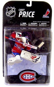 McFarlane Toys NHL Sports Picks Series 21 [2009 Wave 1] Action Figure Carey Price (Montreal Canadiens) Blue Helmet