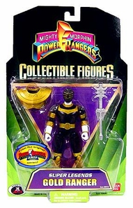 Power Rangers Super Legends Collectible Action Figure Gold Ranger [Zeo]
