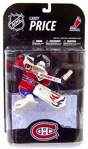 McFarlane Toys NHL Sports Picks Series 21 [2009 Wave 1] Action Figure Carey Price (Montreal Canadiens) White Helmet Variant