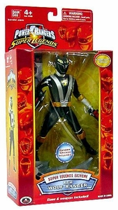 Power Rangers Super Legends Extreme Action Figure RPM Black Wolf Ranger