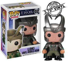 Funko POP! Marvel Thor Vinyl Bobble Head Figure Loki