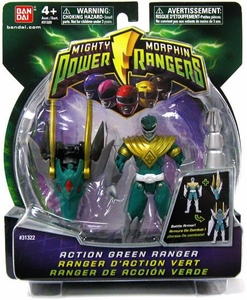 Power Rangers Mighty Morphin 4 Inch DX Action Figure Green Ranger