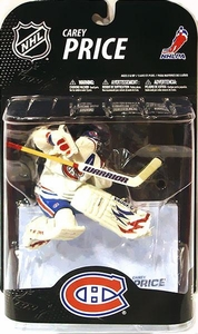 McFarlane Toys NHL Sports Picks Series 21 [2009 Wave 1] Action Figure Carey Price (Montreal Canadiens) White Jersey Variant