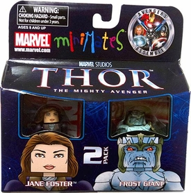 Thor Movie Exclusive Minimates Mini Figure 2-Pack Jane Foster & Frost Giant