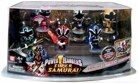Power Rangers Super Samurai Mini PVC Figure 6-Pack Smash Rangers