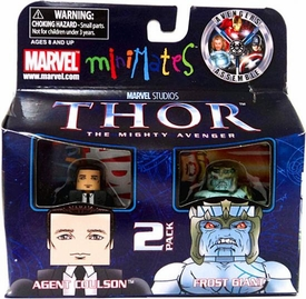 Thor Movie Exclusive Minimates Mini Figure 2-Pack Agent Coulson & Frost Giant