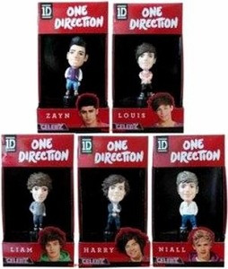 1D Set of 5 Mini Vinyl Figures [Harry, Niall, Zayn, Louis & Liam]