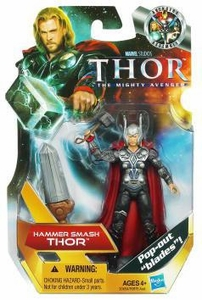 Thor Movie 4 Inch Action Figure #7 Hammer Smash Thor