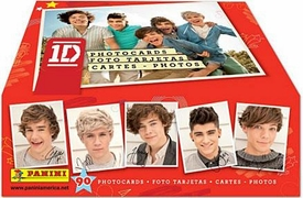1D Panini Photocards Trading Card Box [24 Packs]