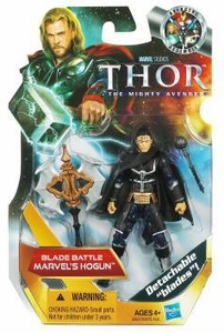 Thor Movie 4 Inch Action Figure #9 Blade Battle Marvel's Hogun